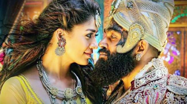 Karthi and Nayanthara in Kaashmora