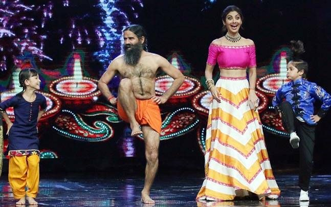 You will get to know the Super Dancer side of Baba Ramdev on Shilpa Shetty's dance reality show.