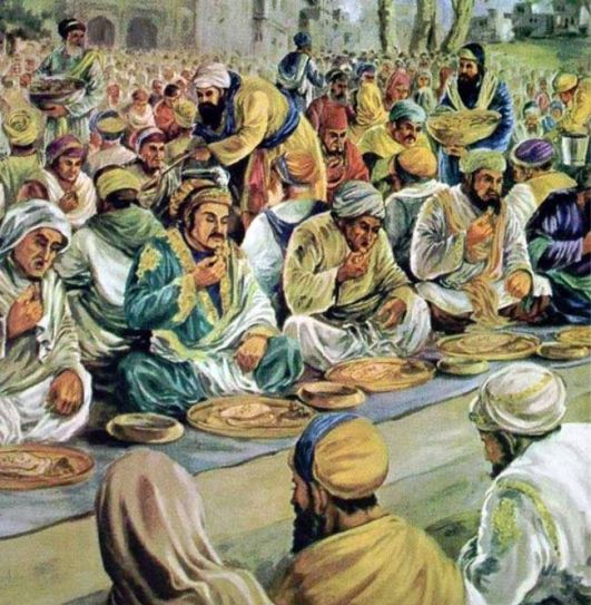 The Golden Temple in Amritsar has a long and well-documented history of langars, where thousands of people are fed every day.