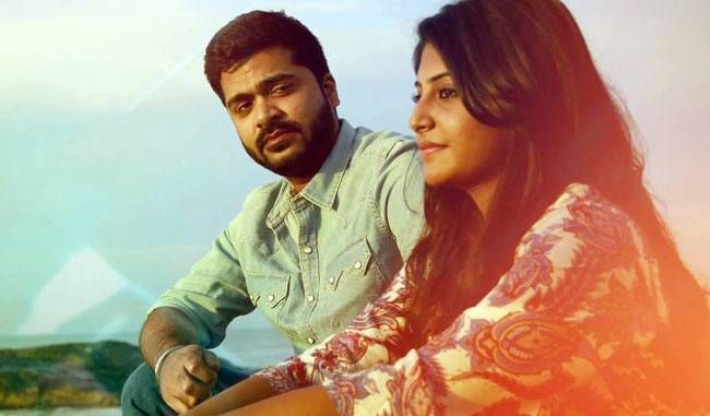 Simbu and Manjima Mohan