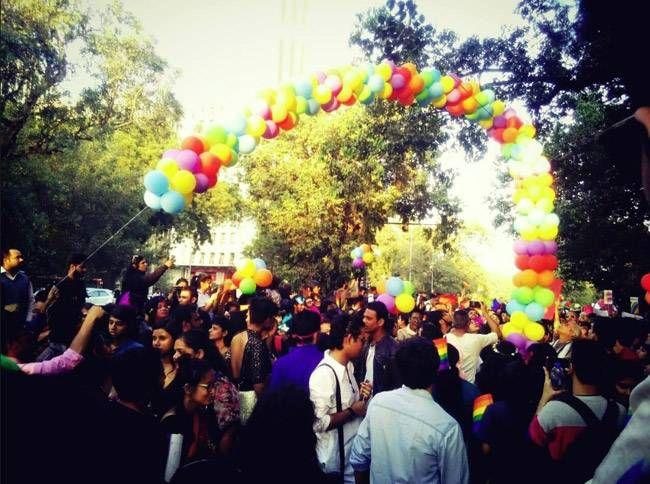 The 9th Delhi Queer Pride Parade took place in Delhi on 27 December, 2016.
