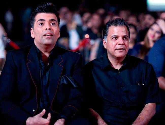 Karan Johar and Raj Nayak