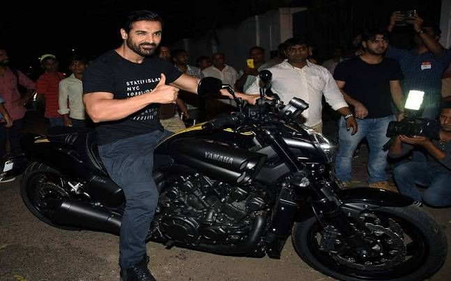 John Abraham at Force 2 success party