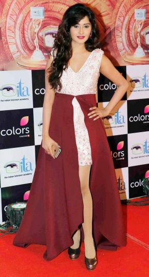 Kanchi Singh or Gayu of Yeh Rishta Kya Kehlata Hai looked stunning in this lovely outfit.
