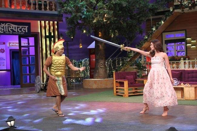 Alia Bhatt in action mode.