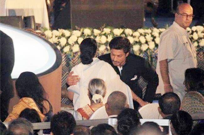 Mamata Banerjee and Shah Rukh Khan
