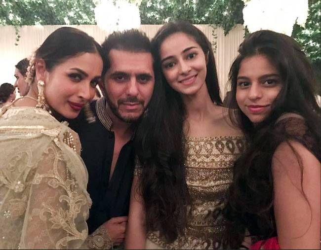 Malaika Arora Khan, Ritesh Sidhwani, Ananya Panday and Suhana Khan