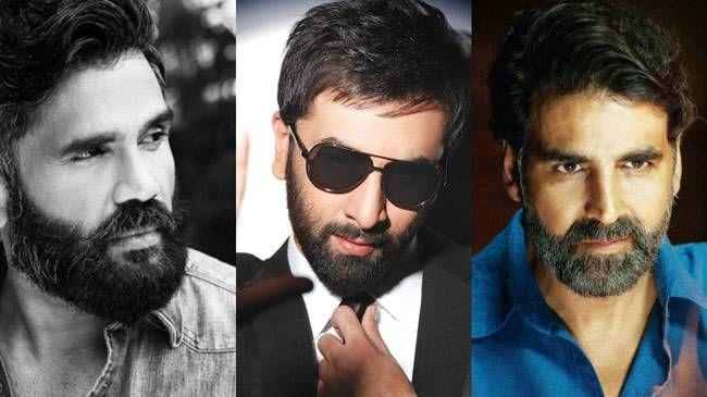 (L to R) Suniel Shetty, Ranbir Kapoor, Akshay Kumar