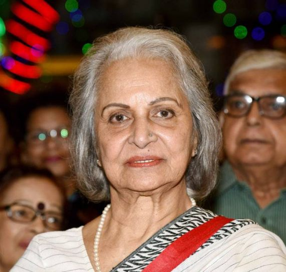 Yesteryear actress, Waheeda Rehman, looks as graceful as ever at the event.