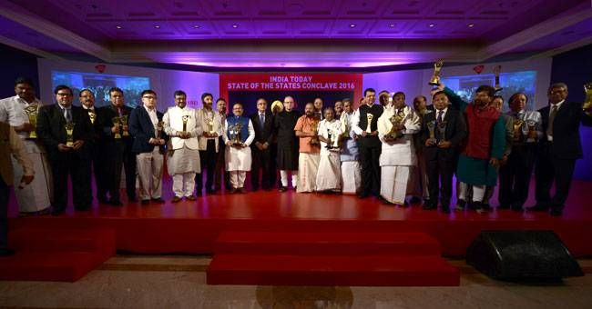 India Today State of States awards 2016