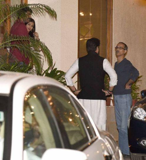 Sikander Kher, Aishwarya Rai Bachchan, Abhishek Bachchan, Rohan Sippy