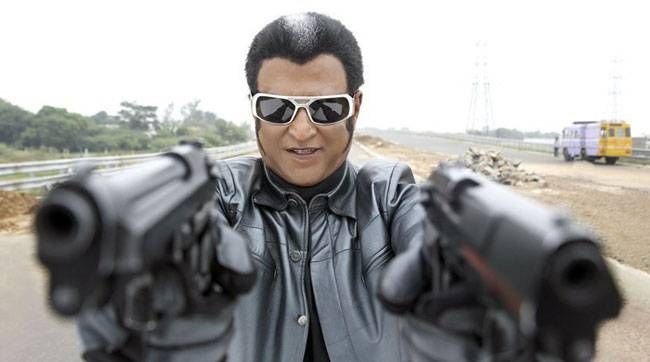 Rajinikanth as Chitti the robot