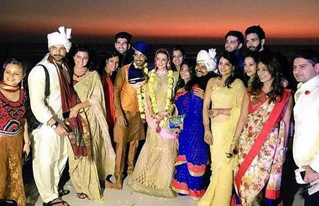 Sanaya Irani and Mohit Sehgal: This cute Miley Jab Hum Tum pair tied the knot on January 25 in Goa, in presence of close friends and family. The couple had met on the sets of Miley Jab... and started dating soon after.