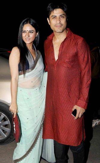 Bigg Boss 9 contestant Priya Malik also made it to the ceremony to wish Sukish.
