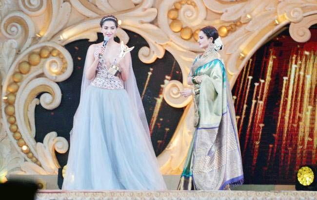Sonam Kapoor and Rekha
