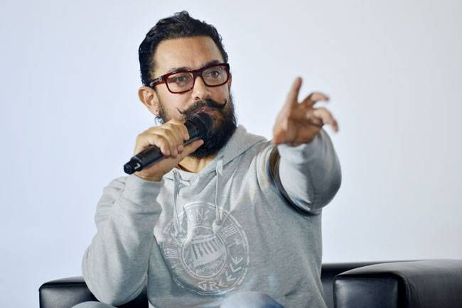 Aamir Khan at Secret Superstar teaser launch