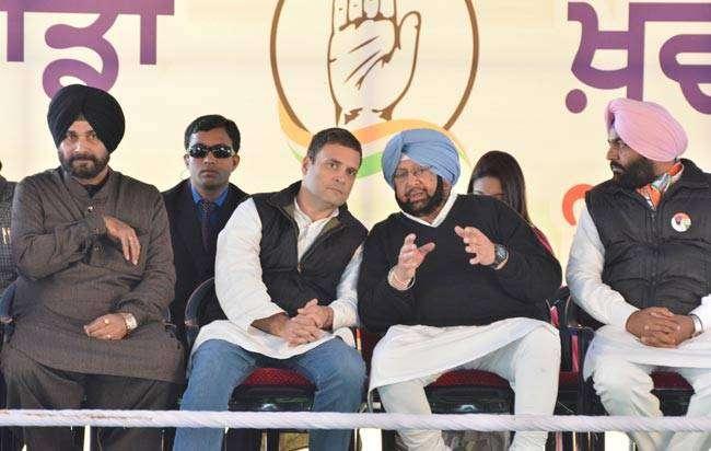 """Amarinder Singh is Punjab's chief ministerial candidate and he will be Punjab's chief minister,"" Rahul Gandhi said."