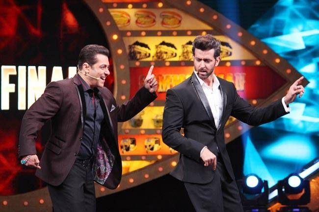 Salman and Hrithik's performance is one of the highlights of grand finale.