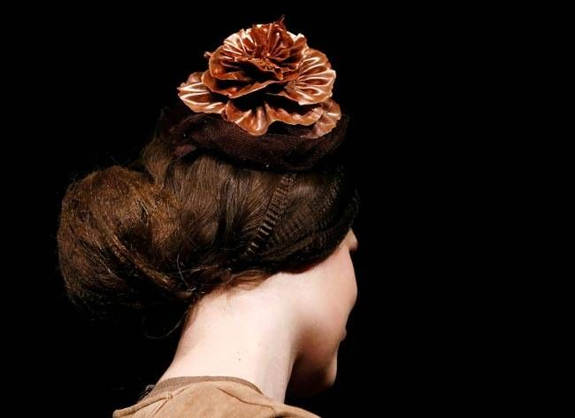Intricately designed chocolate hats were one of the highlights of the fair. And these are quite practical too. If you're craving chocolate, just reach up to your hat, and indulge!