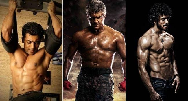 Besides ajith kumar 7 tamil actors who sported six pack abs next altavistaventures Choice Image
