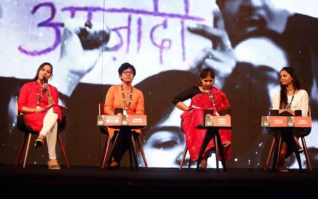 Janhawi Ojha,Varada Marathe, Sabika Abbas Naqvi,Shehla Rashid