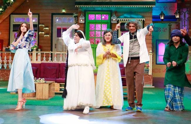 Anushka Sharma and Kapil Sharma,