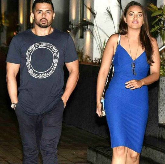 Sonakshi Sinha and Bunty Sajdeh