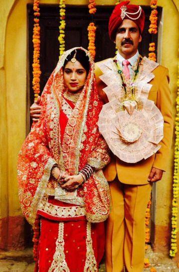 Akshay Kumar and Bhumi Pednekar