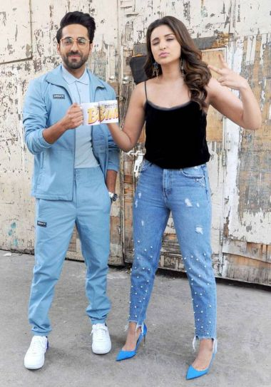 Ayushmann Khurrana and Parineeti Chopra