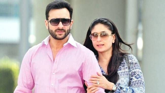 Saif Ali Khan with Kareena Kapoor Khan