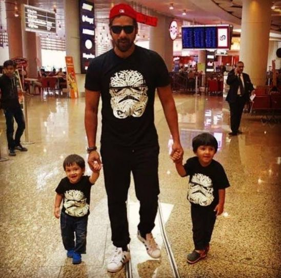 Shabir Ahluwalia and his two sons