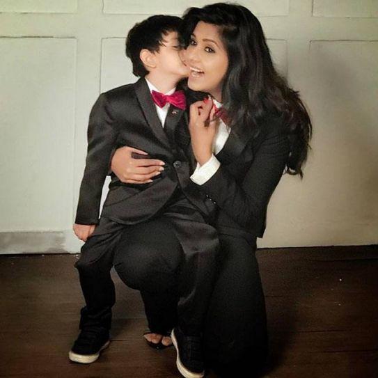 Dalljiet Kaur with her son Jaydon