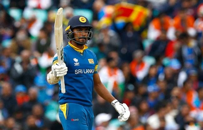 Opener Danushka Gunathilaka stuck it out , hitting an all important 76 off 72 balls.