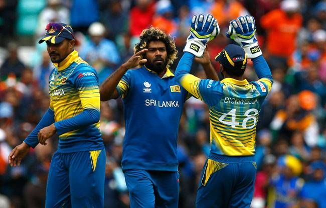 Lasith Malinga was the pick of the bowlers for Sri Lanka, picking up the two important wickets of Rohit and Shikhar.