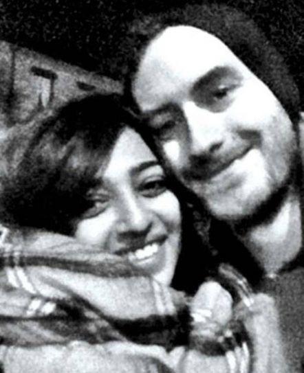 Radhika Apte and Benedict Taylor