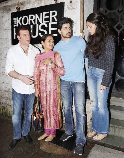 Aditya Pancholi, Zarina Wahab, Sooraj Pancholi