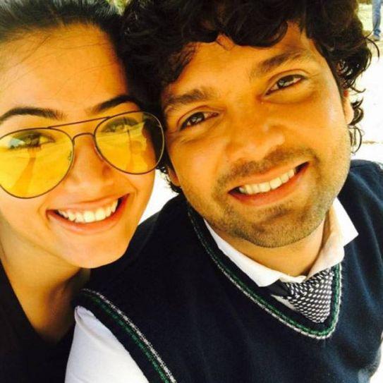 Rakshit Shetty and Rashmika Mandanna
