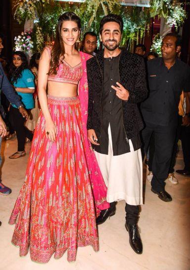 Kriti Sanon and Ayushmann Khurrana