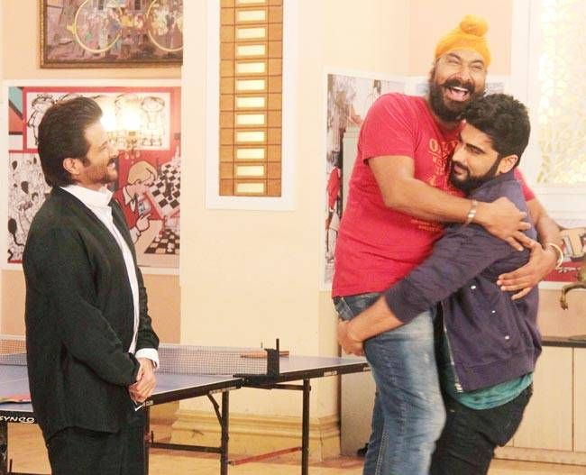 Arjun Kapoor, Anil Kapoor, Sodhi