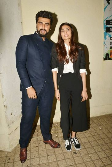 Arjun Kapoor and Athiya Shetty