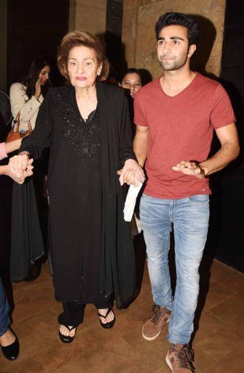Krishna Kapoor and Aadar Kapoor