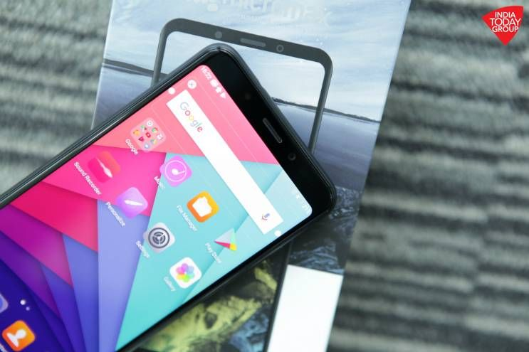 Home grown manufacturer Micromax launched the Canvas Infinity phone -- a phone with an unusual 18:9 edge-to-edge screen and other top features -- in India on Tuesday. Here's a closer look at Micromax's new affordable bezel-less phone.