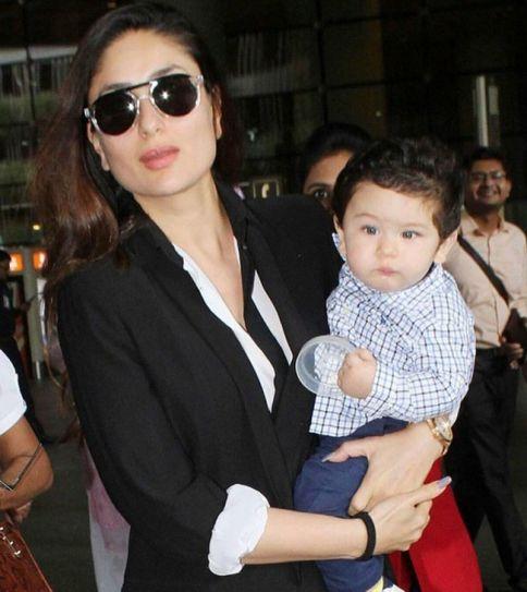 Kareena Kapoor Khan and Taimur