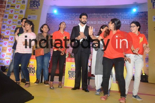 Abhishek Bachchan at Mind Rocks 2017 Bhopal