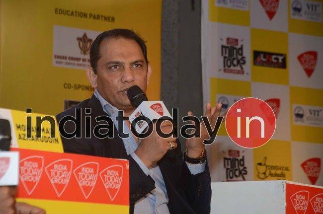 Mohammad Azharuddin at Mind Rocks 2017 Bhopal
