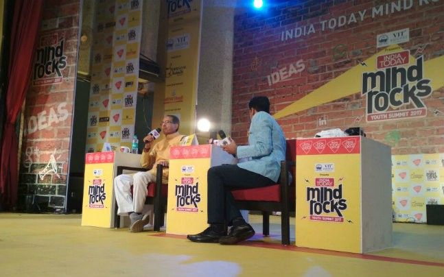 Madhya Pradesh Chief Minister Shivraj Chouhan at India Today Mind Rocks Bhopal 2017.