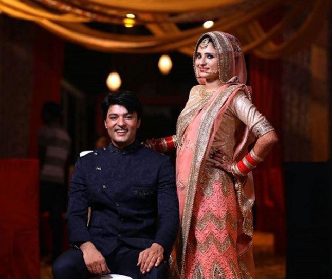 Anas Rashid and Hina Iqbal