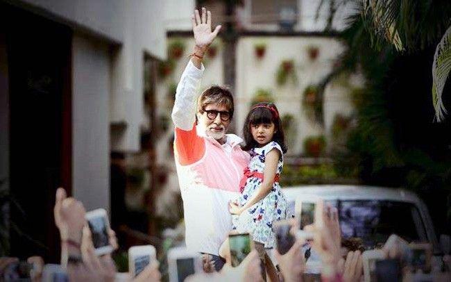 Amitabh Bachchan, Aaradhya Bachchan