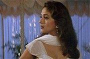 Shah Rukh Khan and Madhuri Dixit