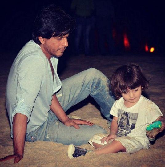 Shah Rukh Khan, AbRam Khan,